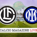 Lugano Inter cronaca diretta live risultato in tempo reale