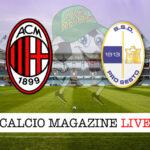 Milan Pro Sesto cronaca diretta live risultato in tempo reale