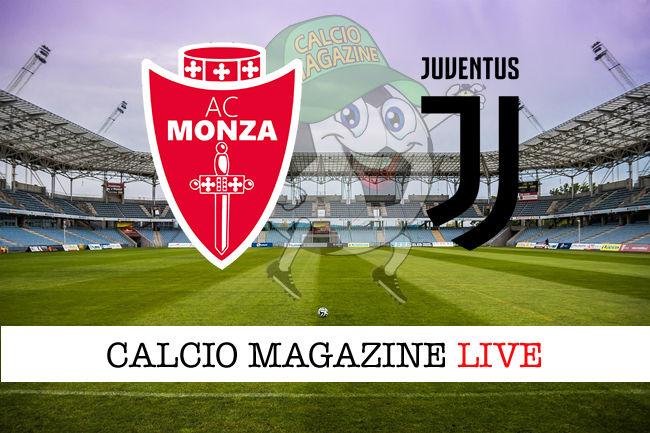 Monza Juventus cronaca diretta live risultato in tempo reale