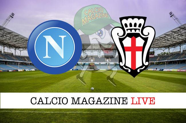 Napoli Pro Vercelli cronaca diretta live risultato in tempo reale