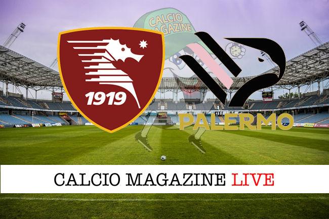 Salernitana Palermo cronaca diretta live risultato in tempo reale