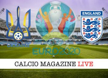 Ucraina Inghilterra Euro 2020 cronaca diretta live risultato in tempo reale
