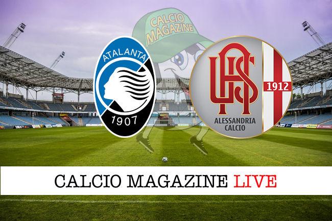 Atalanta Alessandria cronaca diretta live risultato in tempo reale