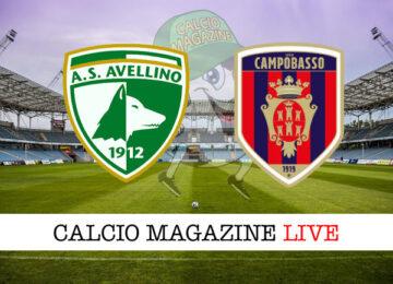 Avellino Campobasso cronaca diretta live risultato in tempo reale