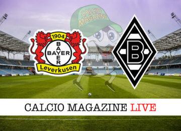 Bayer Leverkusen Borussia M'Gladbach cronaca diretta live risultato in tempo reale