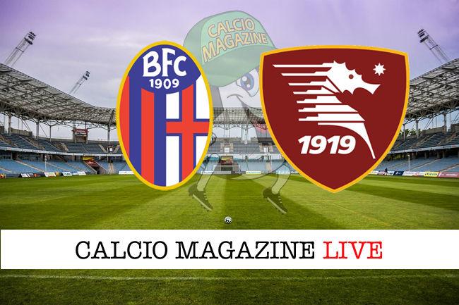 Bologna Salernitana cronaca diretta live risultato in tempo