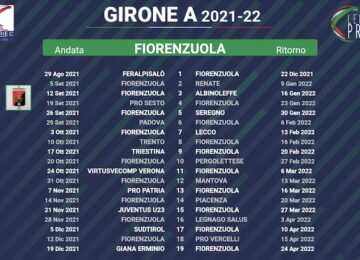 calendario fiorenzuola 2021-2022