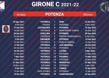 calendario potenza 2021-2022