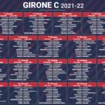 calendario serie c girone c 2021-2022