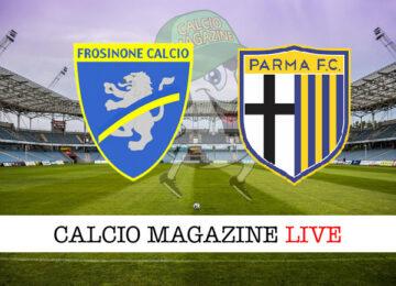 Frosinone Parma cronaca diretta live risultato in tempo reale