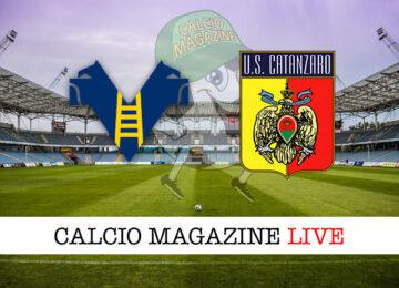 Hellas Verona Catanzaro cronaca diretta live risultato in tempo reale