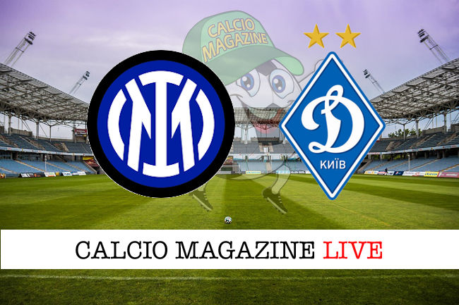 Inter Dinamo Kiev cronaca diretta live risultato in tempo reale