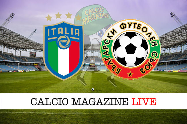 Italia Bulgaria cronaca diretta live risultato in tempo reale