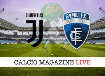 Juventus Empoli cronaca diretta live risultato in tempo reale