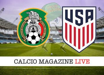 Messico USA cronaca diretta live risultato in tempo reale