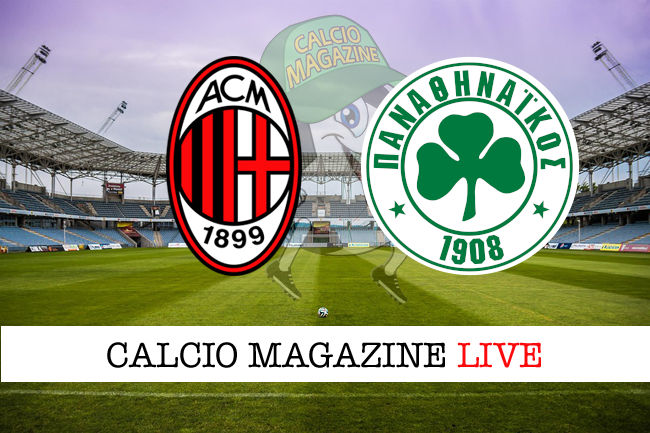 Milan Panathinaikos cronaca diretta live risultato in tempo reale