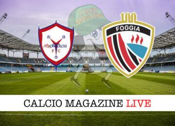 Monterosi Tuscia Foggia cronaca diretta live risultato in tempo reale