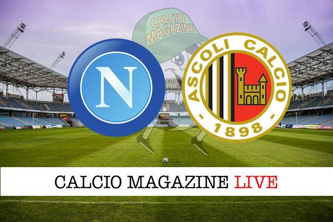 Napoli Ascoli cronaca diretta live risultato in tempo reale