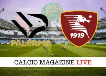 Palermo Salernitana cronaca diretta live risultato in tempo reale