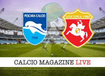 Pescara Ancona Matelica cronaca diretta live risultato in tempo reale