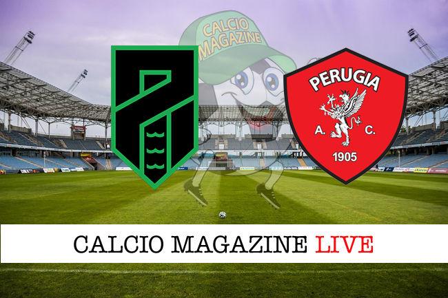 Pordenone Perugia cronaca diretta live risultato in tempo