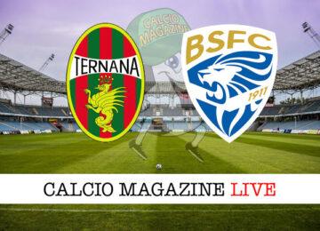 Ternana Brescia cronaca diretta live risultato in tempo reale