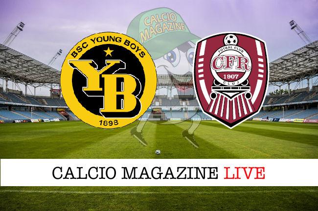 Young Boys Cluj cronaca diretta live risultato in tempo reale