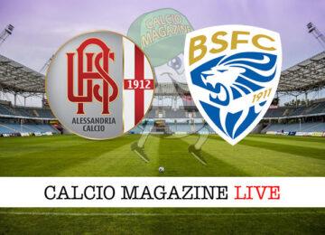 Alessandria Brescia cronaca diretta live risultato in tempo reale