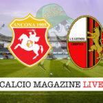 Ancona Lucchese cronaca diretta live risultato in tempo reale