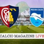 Aquila Montevarchi Pescara cronaca diretta live risultato in tempo reale