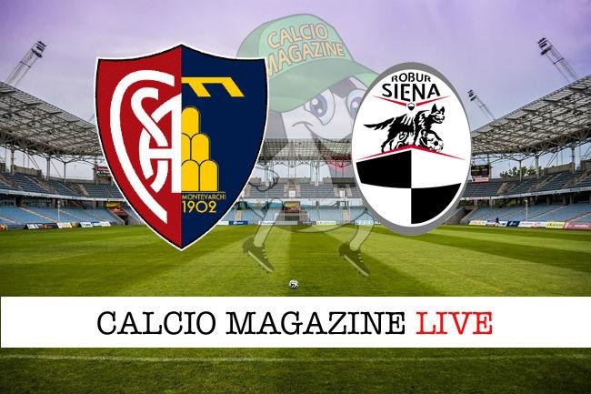 Aquila Montevarchi Siena cronaca diretta live risultato in tempo reale