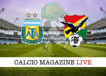 Argentina Bolivia cronaca diretta live risultato in tempo reale