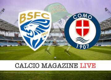 Brescia Como cronaca diretta live risultato in campo reale