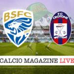 Brescia Crotone cronaca diretta live risultato in tempo reale