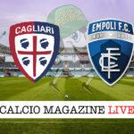 Cagliari Empoli cronaca diretta live risultato in tempo reale