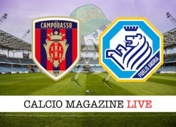 Campobasso Fidelis Andria cronaca diretta live risultato in tempo reale