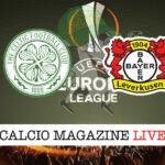 Celtic Bayer Leverkusen cronaca diretta live risultato in tempo reale