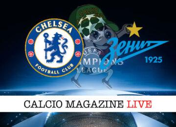 Chelsea Zenit cronaca diretta live risultato in tempo reale
