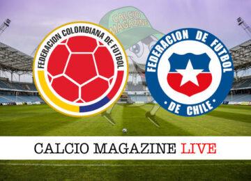 Colombia Cile cronaca diretta live risultato in tempo reale