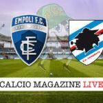 Empoli Sampdoria cronaca diretta live risultato in tempo reale