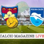 Gubbio Pescara cronaca diretta live risultato in tempo reale