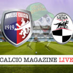 Imolese Siena cronaca diretta live risultato in tempo reale