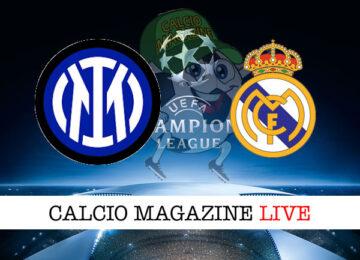 Inter Real Madrid cronaca diretta live risultato in tempo reale