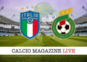 Italia Lituania cronaca diretta live risultato in tempo reale