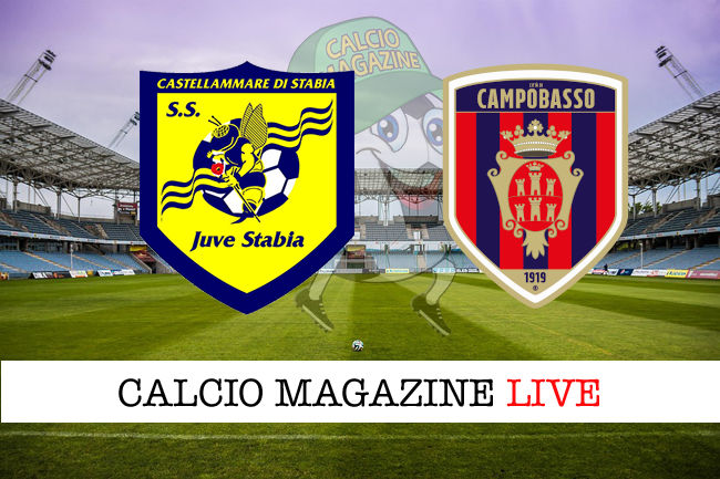 Juve Stabia Campobasso cronaca diretta live risultato in tempo reale