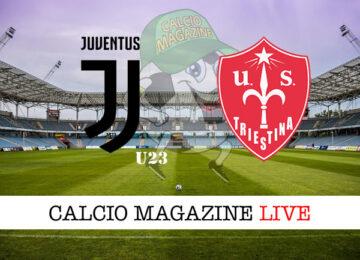 Juventus U23 Triestina cronaca diretta live risultato in tempo reale