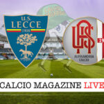 Lecce Alessandria cronaca diretta live risultato in tempo reale