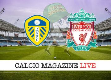 Leeds Liverpool cronaca diretta live risultato in tempo reale