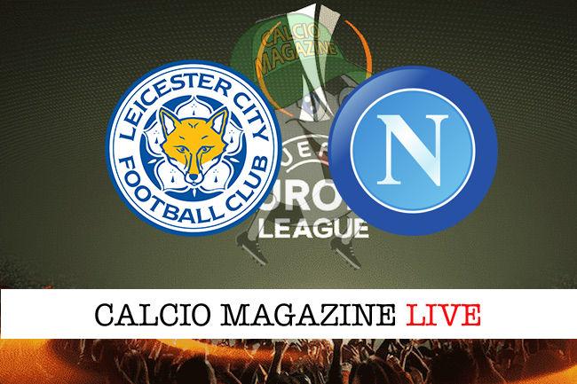 Leicester Napoli cronaca diretta live risultato in tempo reale