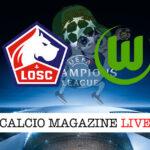 Lille Wolfburg cronaca diretta live risultato in tempo reale